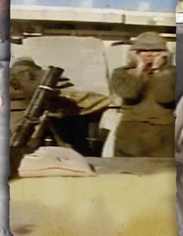 תיעוד היסטורי: סיור בין מוצבי צה