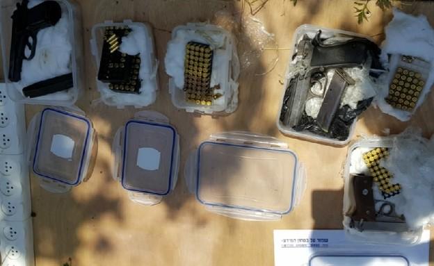 סליק נשק (צילום: דוברות משטרת ישראל)