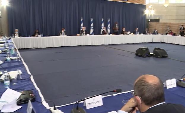 ישיבת הממשלה ה-35 (צילום: N12)
