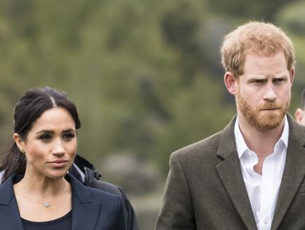 הנסיך הארי ומייגן. פברואר 2020 (צילום: getty images)