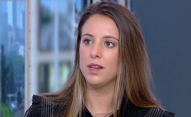 """בתו של יעקב אלפרון הותקפה ברכבה (צילום: מתוך """"חדשות הבוקר"""" , קשת 12)"""