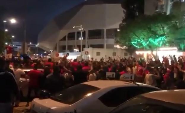 איצטדיון בלומפילד (צילום: בשיתוף חדשות מבזקי רעם בטלגרם)