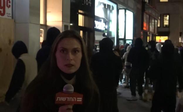 יונה לייבזון במהומות בארצות הברית
