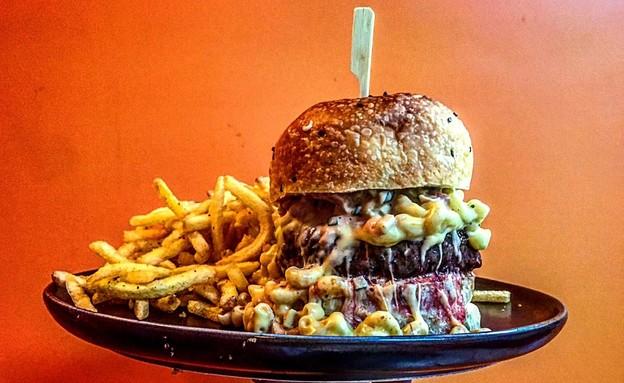 המבורגר בלוויתן  (צילום: ליאור רפאל, יחסי ציבור)