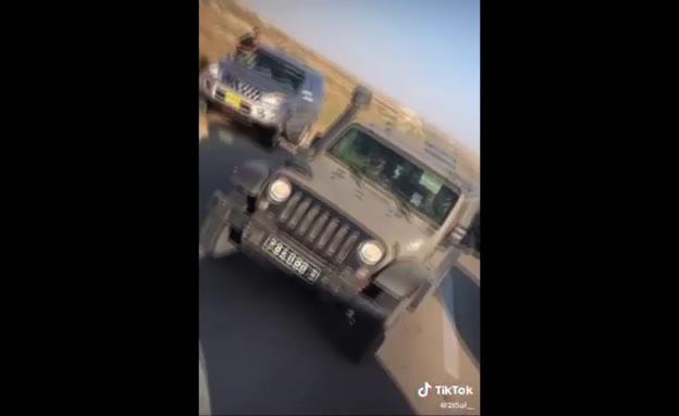 הדרום הפרוע: חשודים בגניבה התגרו ותקפו חיילים