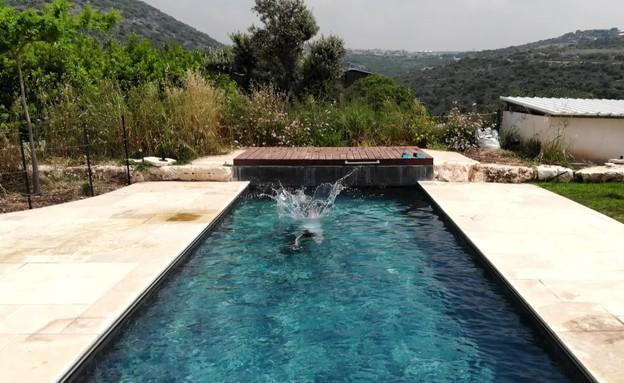 בריכת שחייה (צילום: ליאור טייטלר, כמו בטבע)