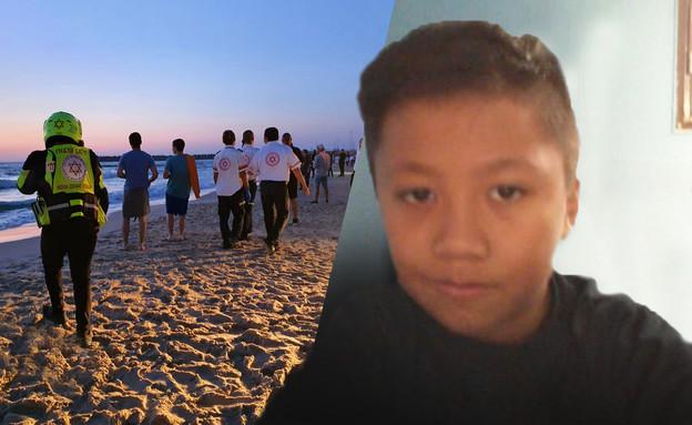 יהודה בילוג, הנער שנעדר בחוף אשדוד