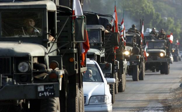 צבא לבנון (צילום: Scott Peterson, GettyImages)