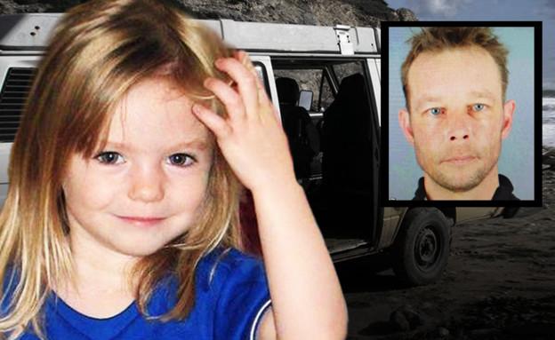 כריסטיאן B החשוד ברצח הילדה מדלן מקאן (עיבוד: התקשורת הגרמנית)