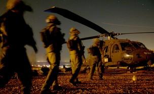 מסוק צבאי (צילום: באדיבות גרעיני החיילים)