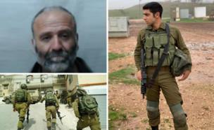 """החשוד בהריגת החייל עמית בן יגאל ז""""ל (עיבוד: דובר צה""""ל)"""