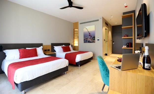 חדר סטנדרט מלון מגדלה (צילום: מרכז תיירות מגדלה)