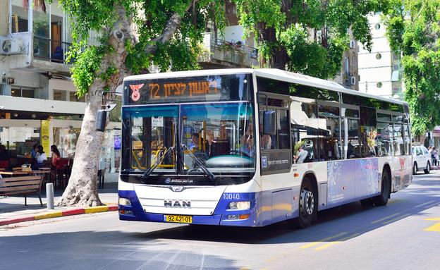 אוטובוס דן (צילום: shutterstock Stanisiav Samoylik)