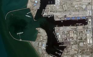 צילומי לווין - תרגיל אירני (צילום: dailymail)