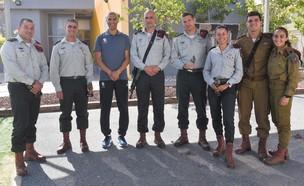 """קציני החטיבה (צילום: דובר צה""""ל )"""