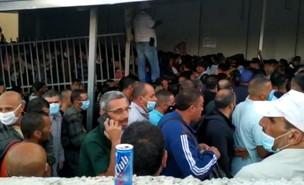 מאות במעבר מבית לחם לירושלים