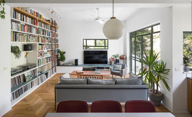 דירה בתל אביב, עיצוב יונתן קנטי ושרון ברקת - 8 (צילום: עידו אדן)