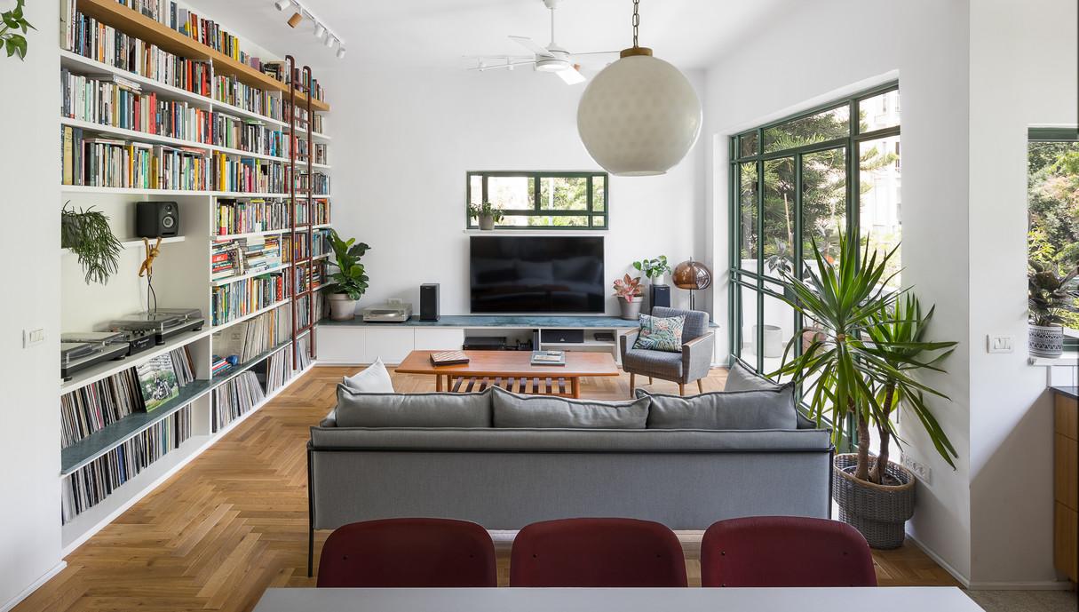 דירה בתל אביב, עיצוב יונתן קנטי ושרון ברקת - 8
