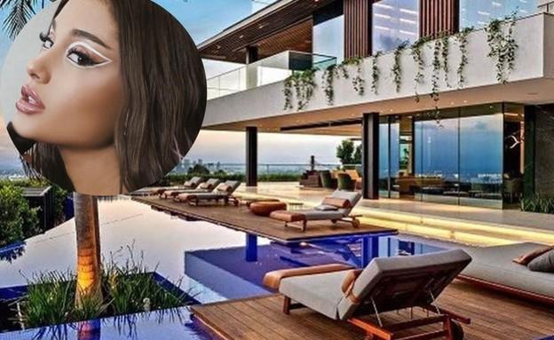 הבית החדש של אריאנה גראנדה. יוני 2020 (צילום: instagram)