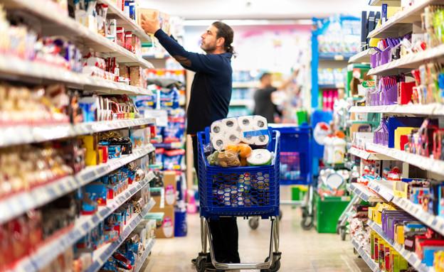 קונה בסופרמרקט (אילוסטרציה: sondem, shutterstock)