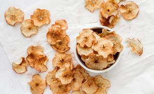 צ'יפס תפוחי עץ (צילום: שרית נובק - מיס פטל, אוכל טוב)