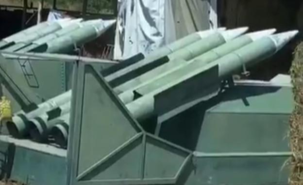 סרטון הטילים שעלה לרשת (צילום: aehamnajjar3, טיק טוק)