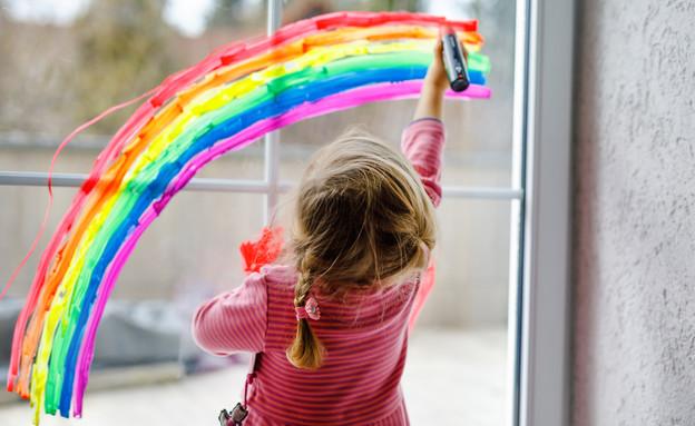 ילדה  (צילום: Romrodphoto   shutterstock)