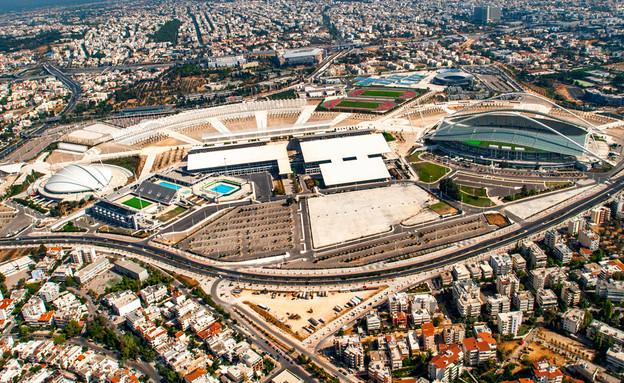 המרכז האולימפי (צילום: Pietro Basilico)