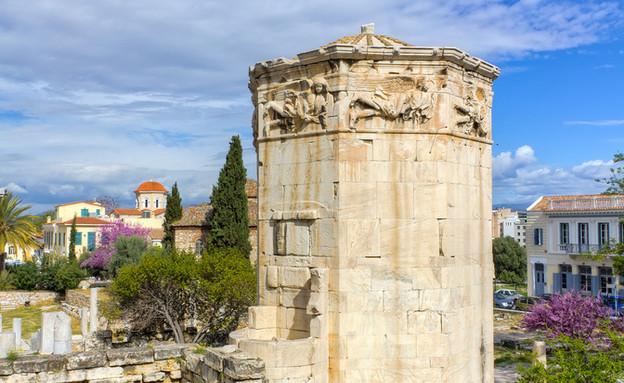 מגדל הרוחות (צילום: Lefteris Papaulakis)