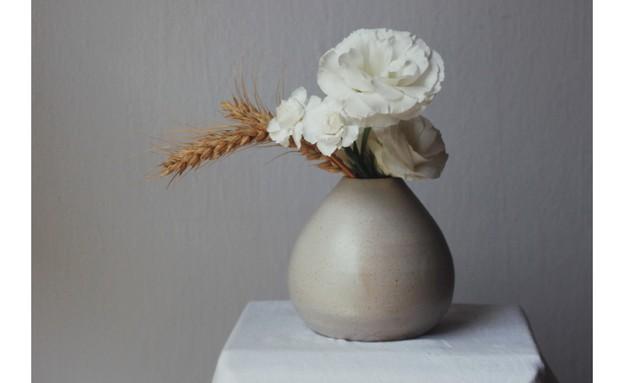 ביני אמנית פרחים - אגרטל אליס (צילום: יחצ)