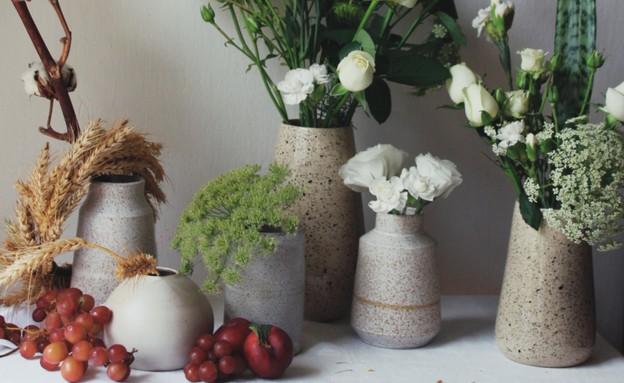 ביני אמנית פרחים - קולקציית שבועות (צילום: יחצ)