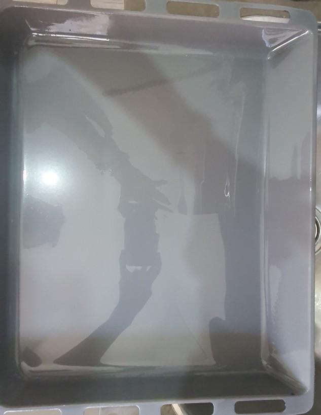 ניקוי תבנית, ג, סנט מוריץ אחרי לילה (צילום: ענת סימן טוב)