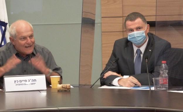 שר הבריאות אדלשטיין בוועדת העבודה והרווחה