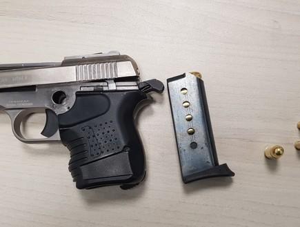 נשק הדרדס (צילום: דוברות משטרת ישראל)