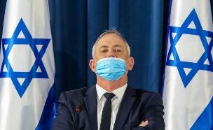 בני גנץ, פגישת הקבינט בירושלים (צילום: מארק ישראל סלם, פלאש 90)