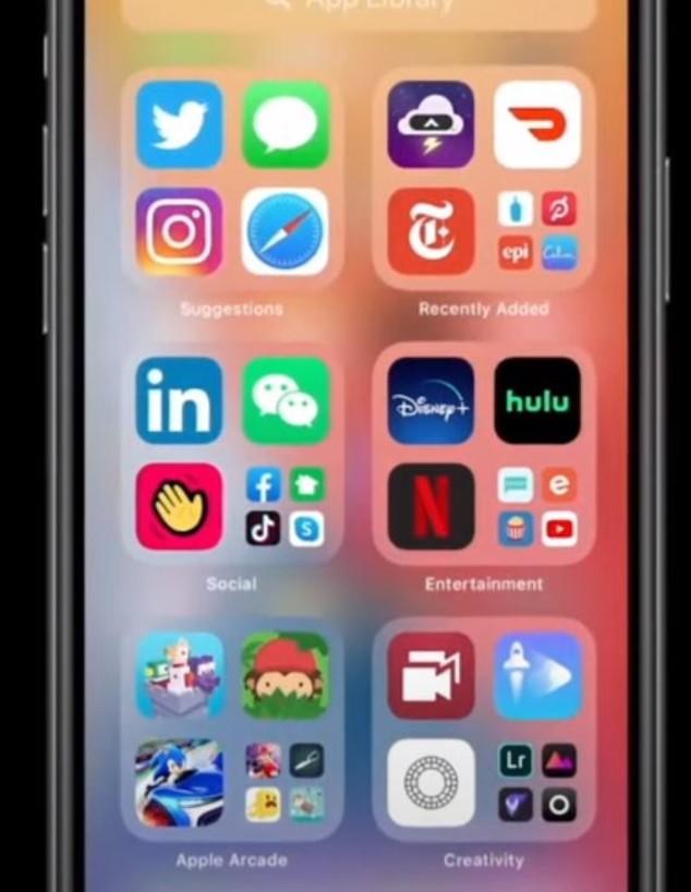 השקת IOS 14 של אפל
