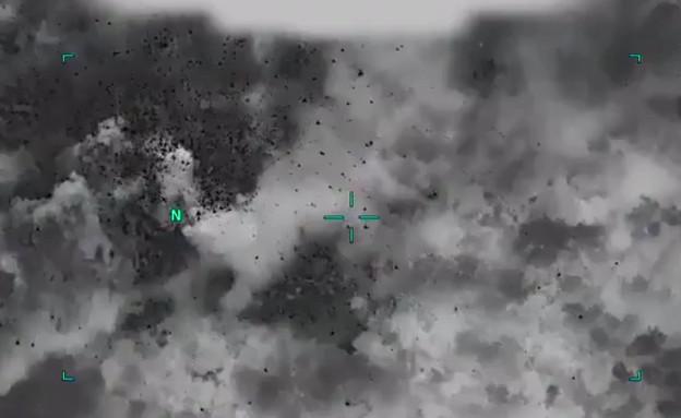 תקיפה אווירית על יעד טרור בעיראק (צילום: OIRSpox, טוויטר)