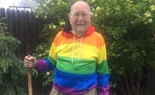 יצא מהארון בגיל 90 (צילום: פייסבוק)