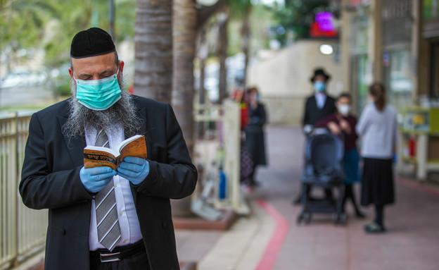 סגר על שכונות באלעד (צילום: יוסי אלוני, פלאש 90)