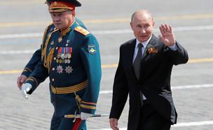 רוסיה מציינת 75 שנה לניצחון על הצבא הנאצי (צילום: שי פרנקו, רויטרס)