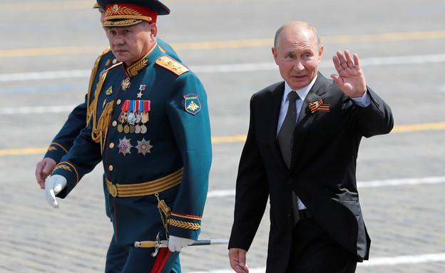 רוסיה מציינת 75 שנה לניצחון על הצבא הנאצי (צילום: רויטרס)