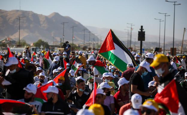 הפגנה נגד הסיפוח ביריחו