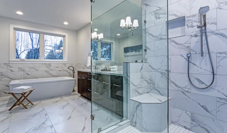 חדר רחצה, מקלחון (צילום: Javani LLC, Shutterstock)