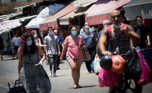 הקורונה בישראל - תל אביב (צילום: מרים אלסטר, פלאש 90)
