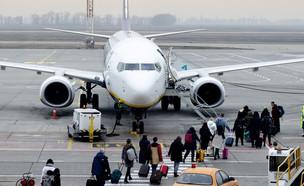 מטוס של ריינאייר (צילום: shutterstock)