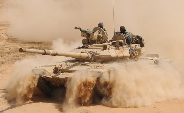 טנק (צילום: SAM PANTHAKY/AFP/GettyImages)