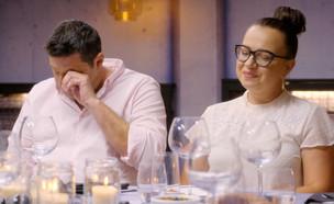 """אינה ואלכס מספרים על סגירת המסעדה (צילום: מתוך """"המטבח המנצח"""", קשת 12)"""