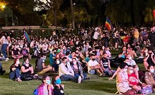 עצרת הגאווה והסובלנות בירושלים 2020 (צילום: הבית הפתוח בירושלים)