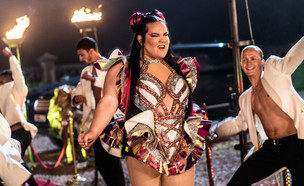 """נטע ברזילי, """"תחרות הזמר של האירוויזיון"""" (צילום: Jonathan Olley/Netflix)"""