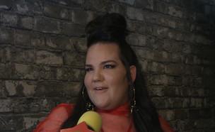 """נטע ברזילי בקומדיה סודית בהשתתפותה (צילום: מתוך """"ערב טוב עם גיא פינס"""", קשת 12)"""